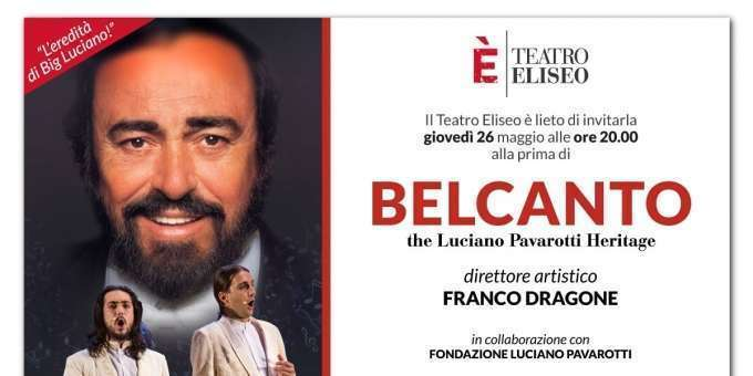 Belcanto – The Luciano Pavarotti Heritage.