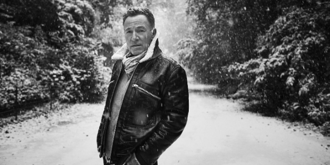 "BRUCE SPRINGSTEEN    IL 23 OTTOBRE ESCE     ""LETTER TO YOU"""