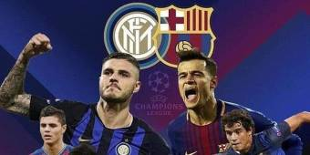 CHAMPIONS LEAGUE 2018 2019 BARCELLONA INTER 2-0