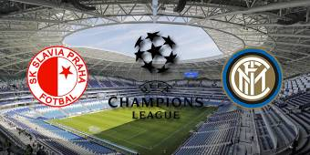 CHAMPIONS LEAGUE 2019 2020 SLAVIA PRAGA INTER 1 - 3