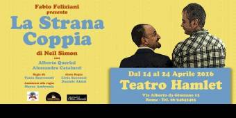 LA STRANA COPPIA Una Commedia Di Neil Simon