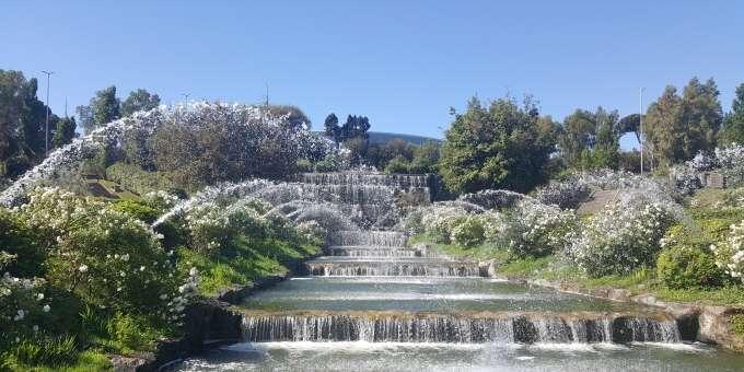 Unfolding roma riaperto il giardino delle cascate dell 39 eur - Cascate per giardino ...